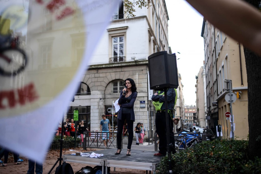 Nathalie Perrin-Gilbert, maire du 1er arrondissement de Lyon soutient Sciences en Marche