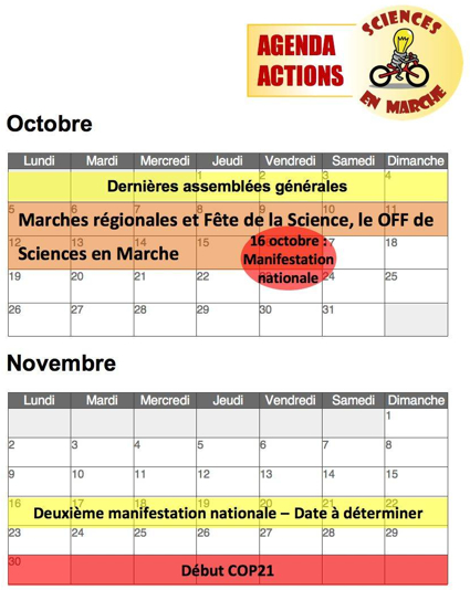 Sciences en Marche 2015