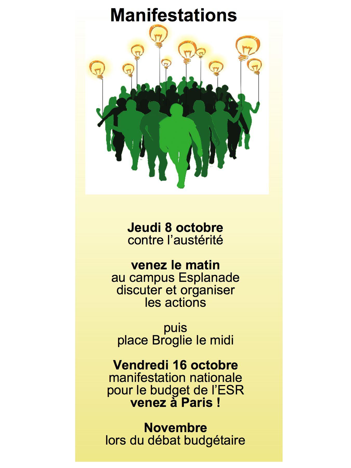 manifestations 2015