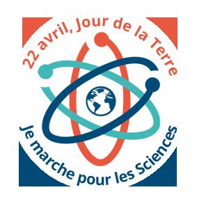 logo je marche pour les sciences petit